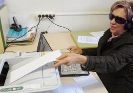 Así votan los ciegos en España