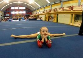 Síndrome de Down no impidió que esta niña mexicana se convirtiera en campeona de gimnasia