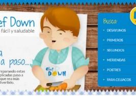 Nuevas recetas de cocina en 'Chef Down' para jóvenes con síndrome de Down
