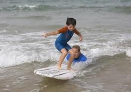 Las olas que combaten el autismo
