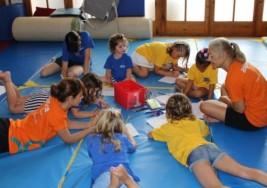 Taller con hermanos de niños con Parálisis Cerebral
