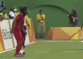 VÍDEO | El golazo en el fútbol para ciegos de los Paralímpicos de Río que asombra al mundo