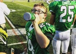 Niño con síndrome de Down hace 'touchdown'
