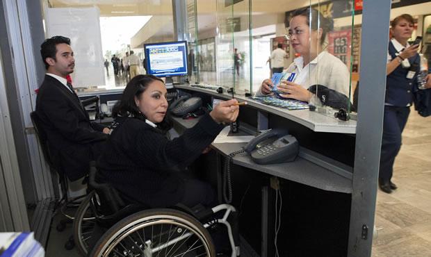 Entra en vigor la norma de seguridad para discapacitados en centros de trabajo