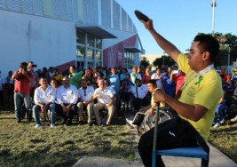 Atletas con discapacidad festejan el Día de la Parálisis Cerebral
