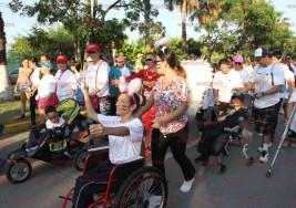 Se realiza la Carrera Pedestre del Día Internacional de la Parálisis Cerebral