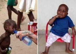 La increíble transformación de Hope, el niño nigeriano abandonado por ser considerado brujo