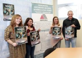 'Noche de magia' a favor de la Asociación de Esclerosis Múltiple