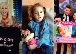La lucha de Coty: una nena padece parálisis cerebral y necesita viajar a Cuba