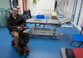 El 'ironman' de la esclerosis múltiple