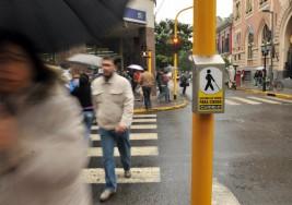 Inauguran semáforos en el centro histórico