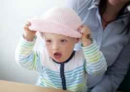 Bebé con síndrome de Down será modelo