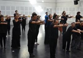 Jóvenes con síndrome de Down hacen su mejor port de bras con el Ballet Nacional de España