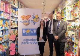 Cuatro niños con síndrome de Down, protagonistas de la campaña de Navidad de Toy Planet