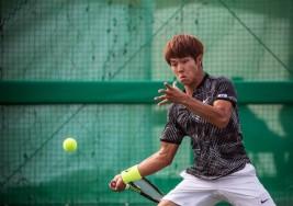 Para un prodigio del tenis coreano, ser sordo no es un obstáculo