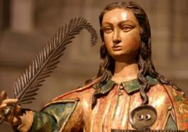 Día de Santa Lucía patrona de la vista