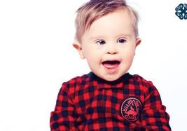 Un bebé con síndrome de Down, la nueva estrella de conocida marca de ropa