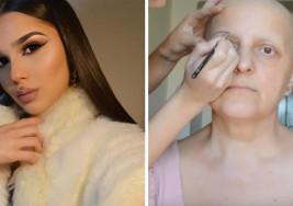 La madre de esta 'youtuber' experta en belleza padece de cáncer. Su hija la dejó irreconocible