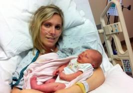 Ella murió dando a luz a su hija, pero un milagro asombroso sucedió