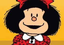 Mafalda: la niña argentina también le habla a los ciegos