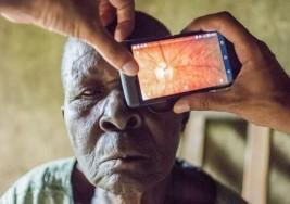 El móvil que cura la ceguera
