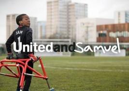 La historia de Sam, un joven portero con parálisis cerebral