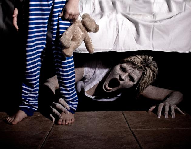 Las cosas horripilantes que ocurren cuando tu hijo duerme y tú no te enteras