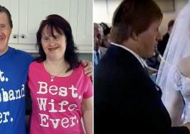 Dos enamorados con síndrome de Down celebran su 22 aniversario de bodas