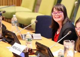 Olivia, la joven síndrome de Down que sonroja con su discurso a la ONU