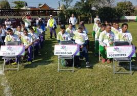 Michoacán, subcampeón de futbol 7 con parálisis cerebral