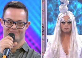 El programa 'Cámbiame' convierte en 'drag queen' a Héctor, un joven con Síndrome de Down