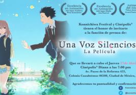"""Cinepolis presenta en exclusiva la película japonesa """"Koe no Katachi"""""""