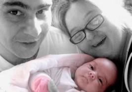 María Gabriela es una mamá con síndrome de Down