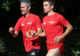 Éxito de la plataforma que une a runners ciegos y corredores guías