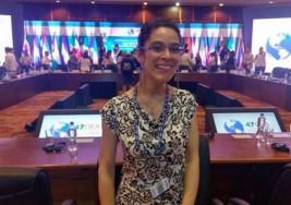 Tiene parálisis cerebral y su testimonio contra el aborto conmueve en la OEA