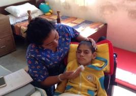 Edgar, un titán que lucha contra la parálisis cerebral en Oaxaca