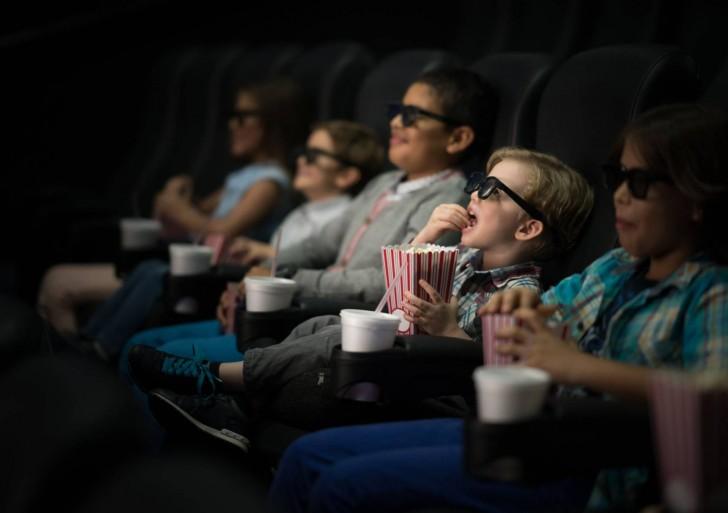 Cine adaptado para niños con autismo