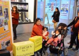 Lanzaron una campaña para mellizas con parálisis cerebral