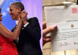Pareja invita al entonces presidente Barack Obama y a su esposa a su boda; la respuesta de ambos dejó a medio mundo con la boca abierta