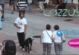 Emprendedores lanzan 'Lazzus', una app para mejorar la autonomía de las personas ciegas