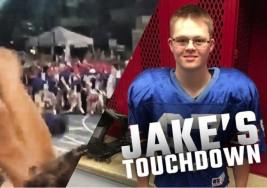 El 'touchdown' de un chico con Síndrome de Down que enamora a las redes sociales