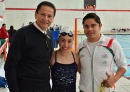 La selección de natación de parálisis cerebral, lista para la Paralimpiada Nacional 2017