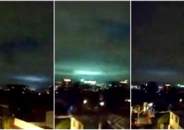 El terremoto de México deja víctimas fatales y unas extrañas luces aparecen en el cielo