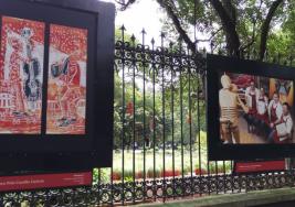 Realizan exposición de artistas con síndrome de Down en Chapultepec