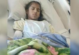 Detienen a niña mexicana con parálisis cerebral al salir de hospital