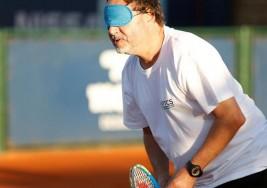 Uruguay impulsa el tenis para ciegos de la mano de un programa internacional