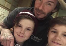Los hijos de Beckham, embajadores de un equipo de niños con parálisis cerebral