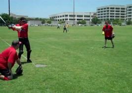 Las personas ciegas también juegan béisbol