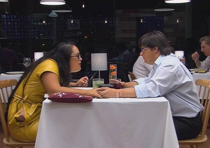 Dos jóvenes con síndrome de Down tienen la cita más bonita en un programa de citas en la TV