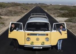 Josevi García y Pablo Molina, el Down sobre ruedas